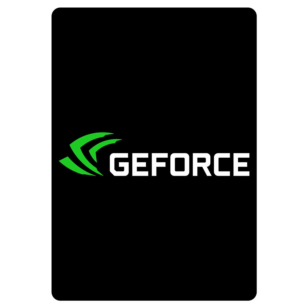 SSD Cover Geforce (Vertical) Black