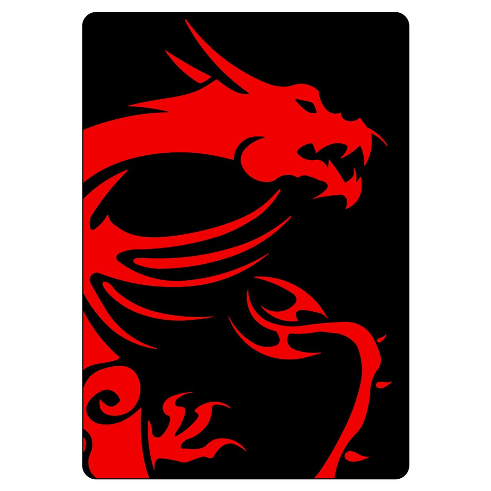 SSD Cover MSI Dragon (Vertical) Black